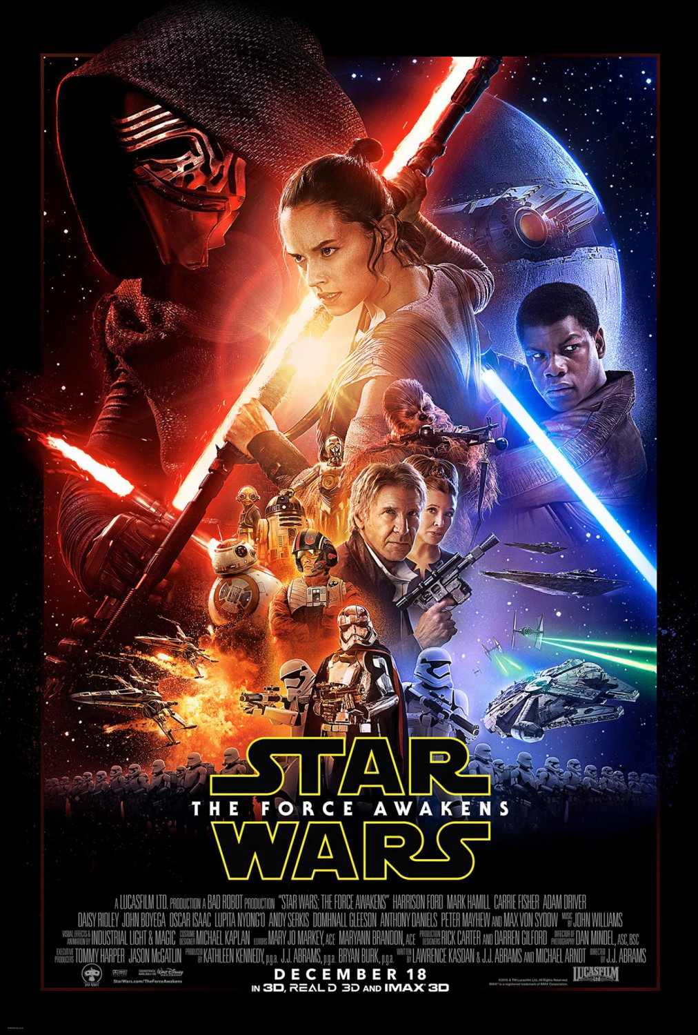 Star Wars: Episode VII – The Force Awakens (Poster) – New ...