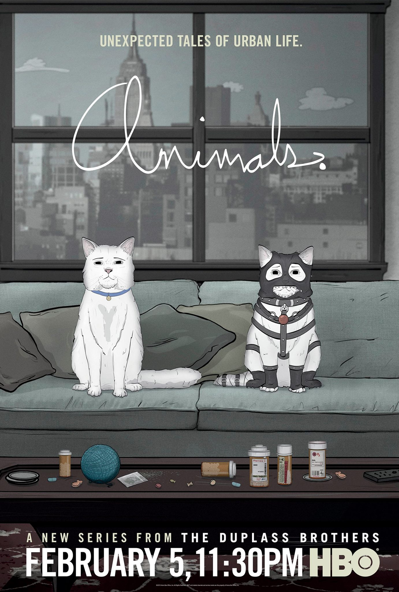 HBO – Animals – Season 1 (Trailer and Posters) – New New Things