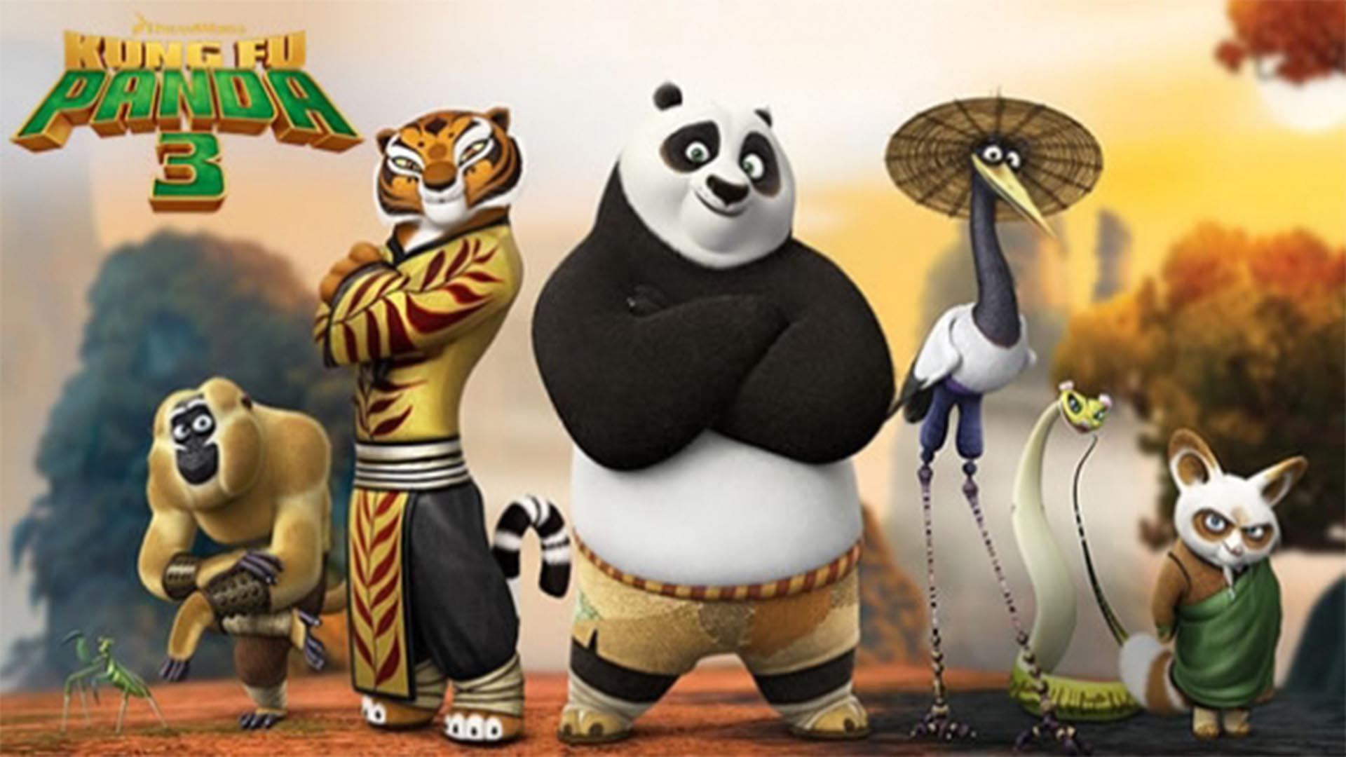 The vamps kung fu fighting video clip kung fu panda 3 ost