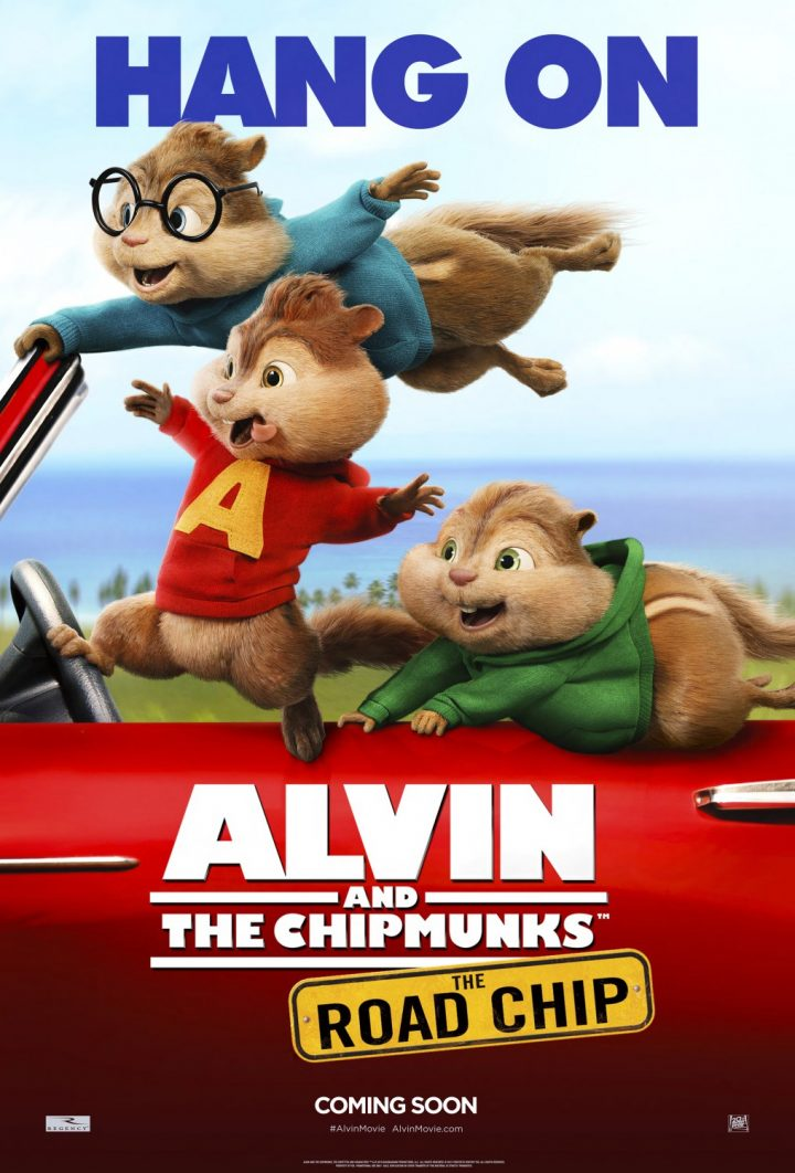 Alvin and the Chipmunks: The Road Chip (Character Posters)
