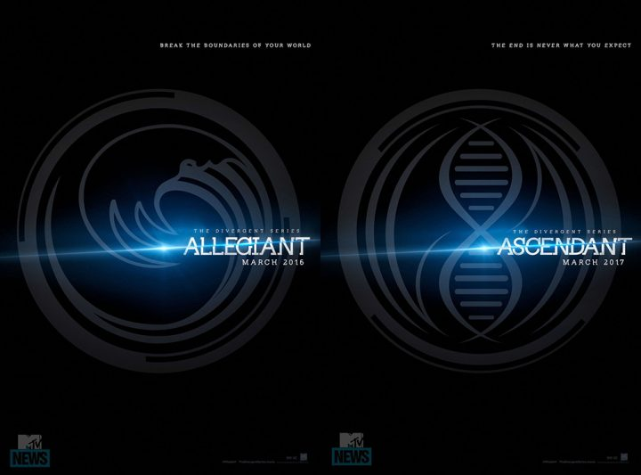 Allegiant & Ascendant (Teaser Posters)