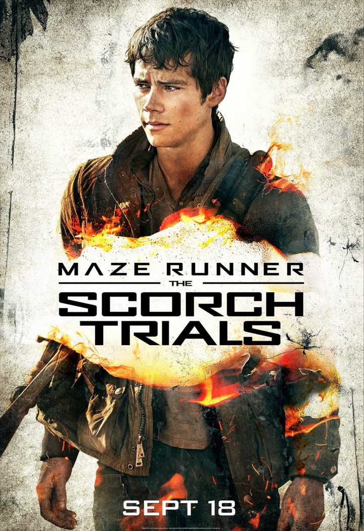 Maze Runner – The Scorch Trials (Character Posters)