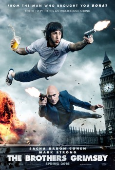[NSFW] The Brothers Grimsby (Poster and Red Band Trailer)