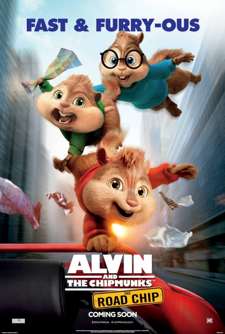 Alvin and the Chipmunks: The Road Chip (Posters)