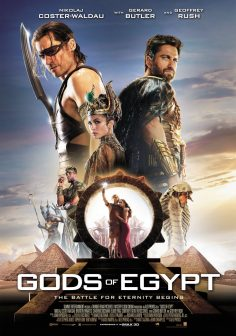 Gods of Egypt (Official International Trailer and Posters)