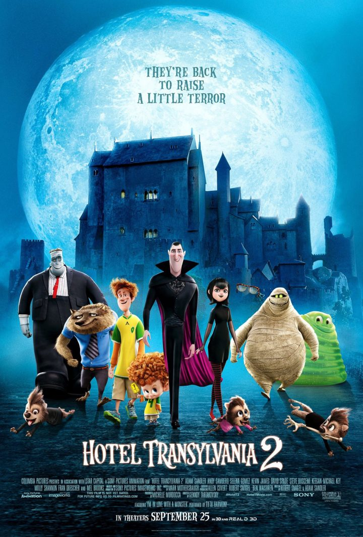 Hotel Transylvania 2 (Poster)