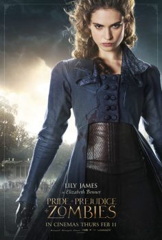 """Pride And Prejudice And Zombies (""""Bloody Good Sneak Peek"""" Trailer, Posters and Character Posters)"""