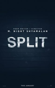 Split (Official Trailer, Poster and Photos)