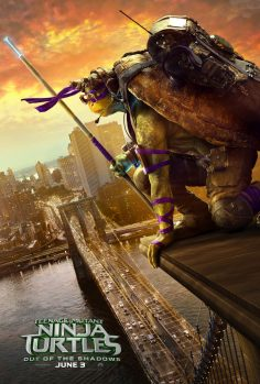"Teenage Mutant Ninja Turtles: Out of the Shadows (""June 3rd"" Teaser, Character Posters and Photos)"